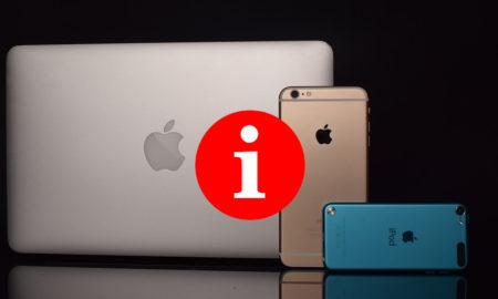 lettre i produits apple