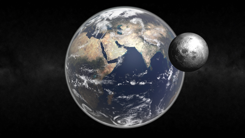 Pourquoi la terre a t elle une lune for Jardin et la lune