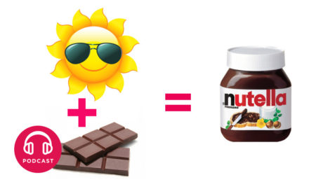 invention nutella