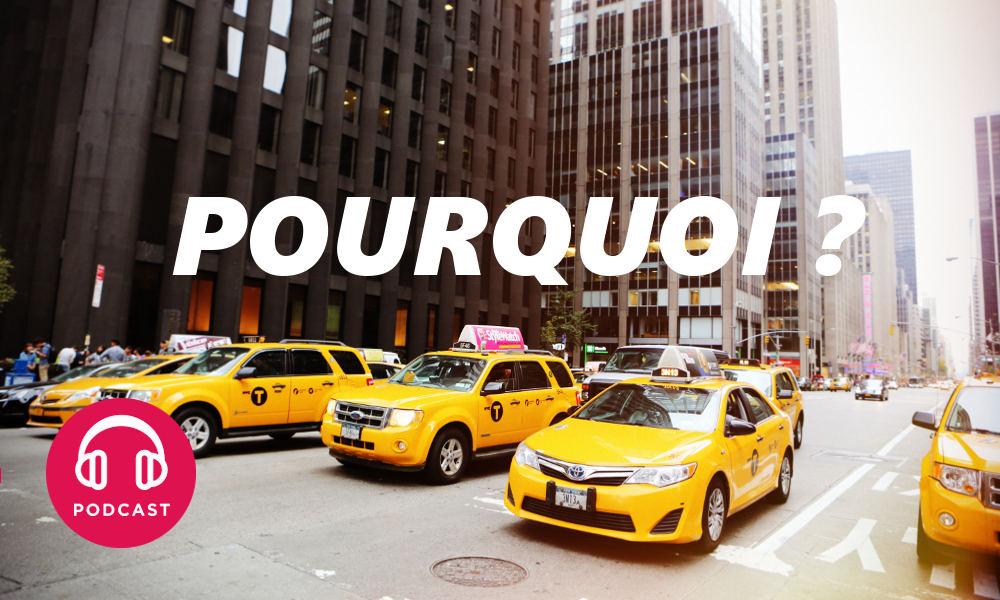 pourquoi les taxis sont ils jaunes new york. Black Bedroom Furniture Sets. Home Design Ideas