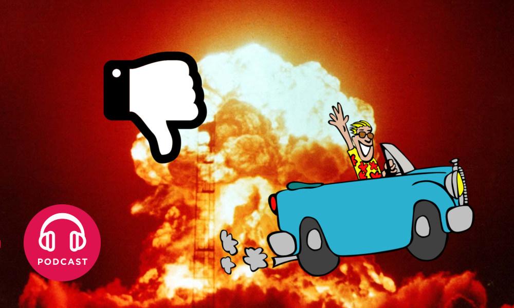 bombe atomique voiture
