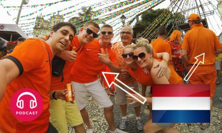 couleur orange pays bas