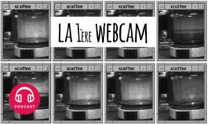 invention de la webcam