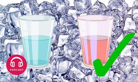 eau glace