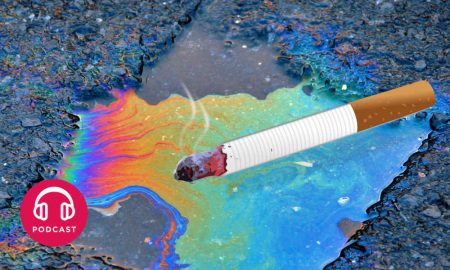 flaque essence cigarette