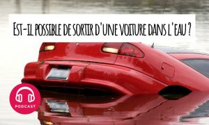 voiture coule