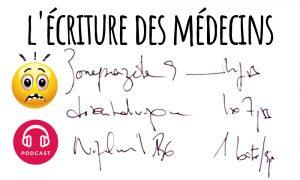 ecriture medecin