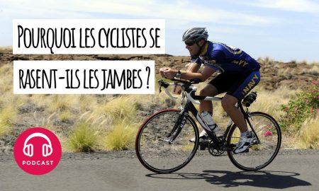 cycliste raser jambes