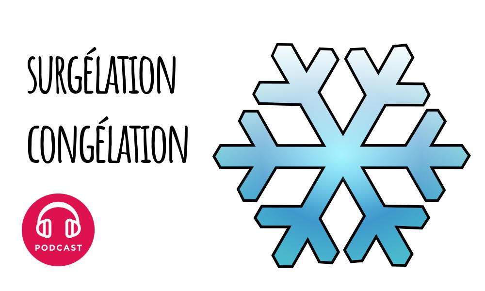 surgelation congelation
